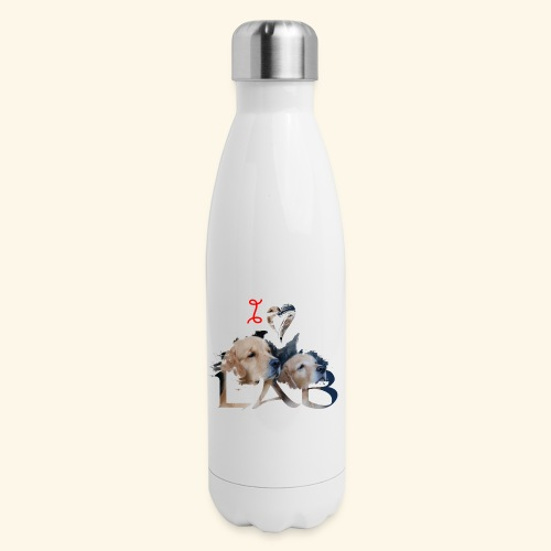 I love Lab - Insulated Stainless Steel Water Bottle