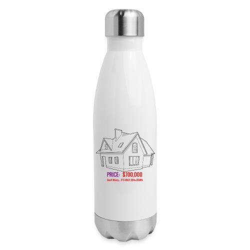 Fannie & Freddie Joke - Insulated Stainless Steel Water Bottle