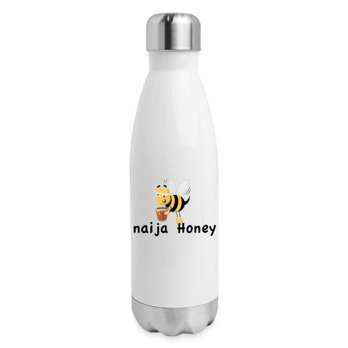naija honey... - Insulated Stainless Steel Water Bottle