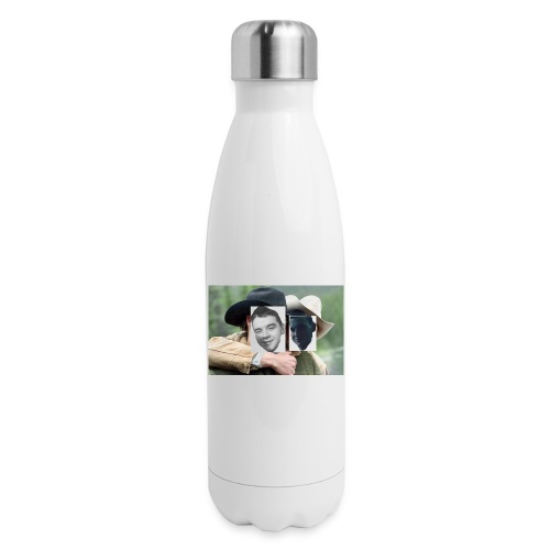 Darien and Curtis Camping Buddies - Insulated Stainless Steel Water Bottle