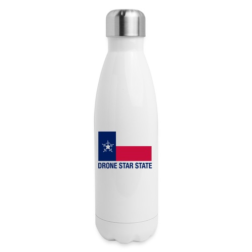Drone Star State - Long Sleeve - Insulated Stainless Steel Water Bottle