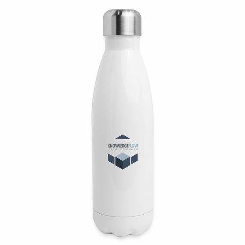 KnowledgeFlow Cybersafety Foundation - Insulated Stainless Steel Water Bottle