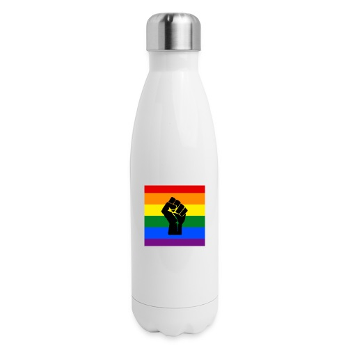 BLM Pride Rainbow Black Lives Matter - Insulated Stainless Steel Water Bottle