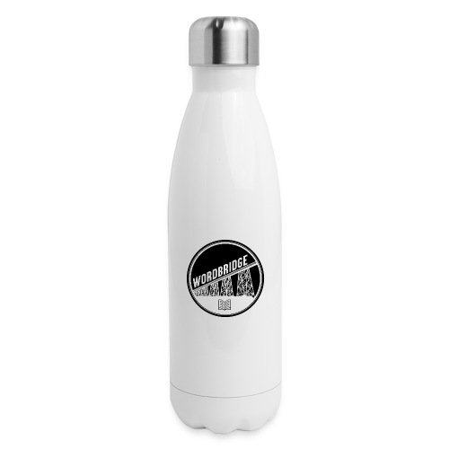 WordBridge Conference Logo - Insulated Stainless Steel Water Bottle
