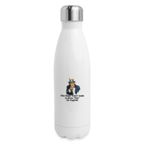 Uncle Sam - Finger - Insulated Stainless Steel Water Bottle