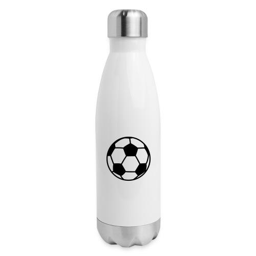 custom soccer ball team - Insulated Stainless Steel Water Bottle