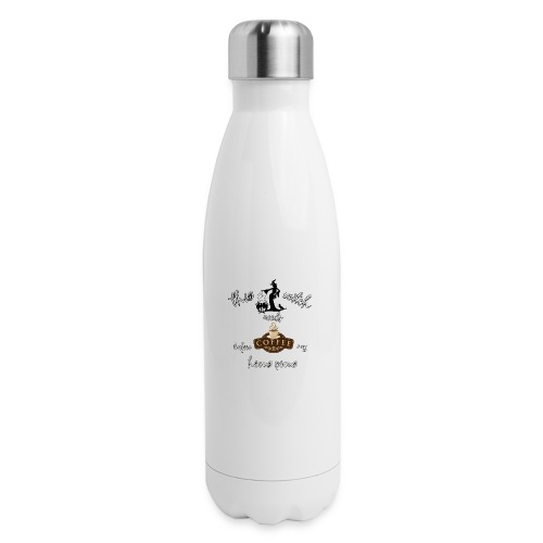 This witch needs coffee - Insulated Stainless Steel Water Bottle