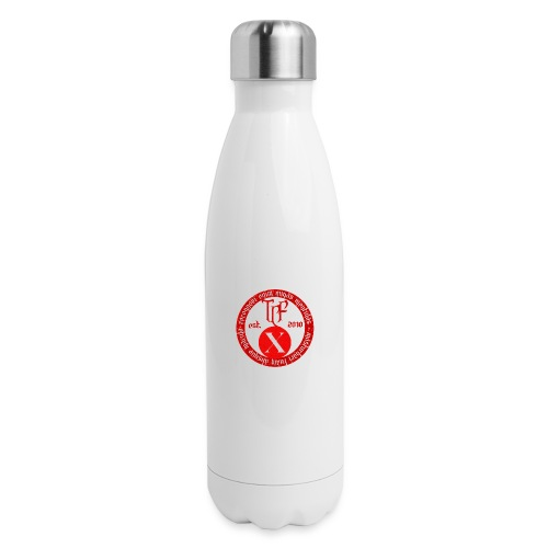 10th Anniversary Medallion - Red Marble - Insulated Stainless Steel Water Bottle
