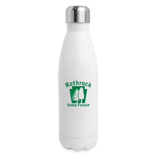 Rothrock State Forest Keystone (w/trees) - Insulated Stainless Steel Water Bottle