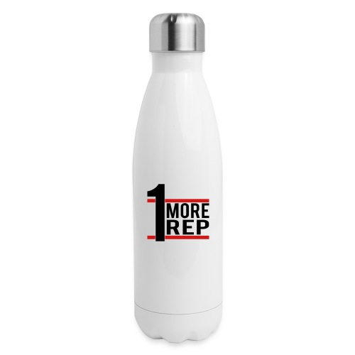 1 More Rep - Insulated Stainless Steel Water Bottle