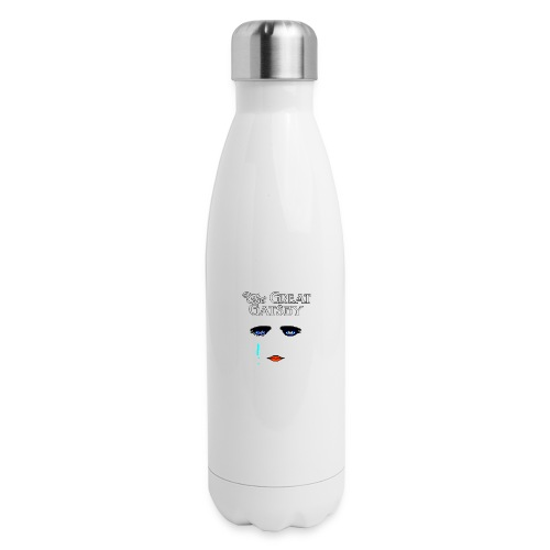 girlyteegraphic - Insulated Stainless Steel Water Bottle