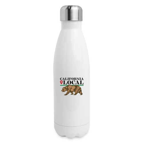 California Local Wear The Bear - Insulated Stainless Steel Water Bottle