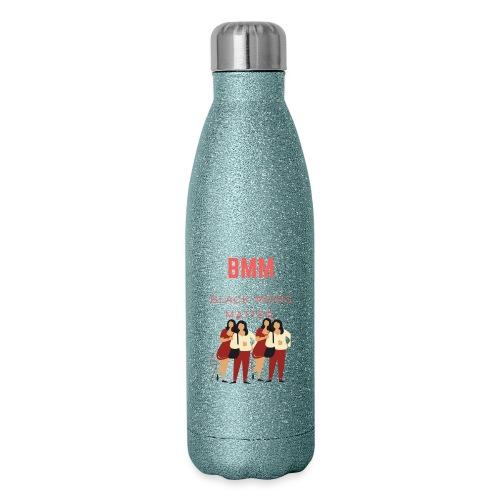 BMM wht bg - Insulated Stainless Steel Water Bottle