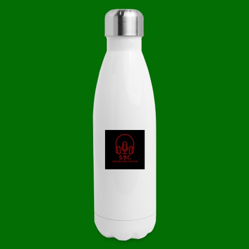 SPC Logo Black/Red - Insulated Stainless Steel Water Bottle