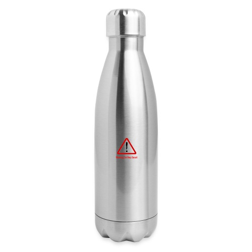 Warning I m Very Smart - Insulated Stainless Steel Water Bottle