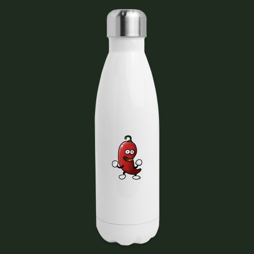 Detailed Chilli - Insulated Stainless Steel Water Bottle