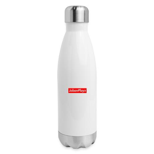 JobanPlayz Text - Insulated Stainless Steel Water Bottle