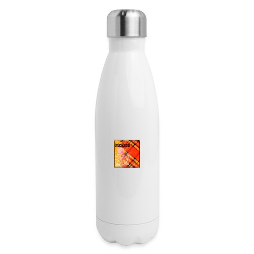 mckidd name - Insulated Stainless Steel Water Bottle