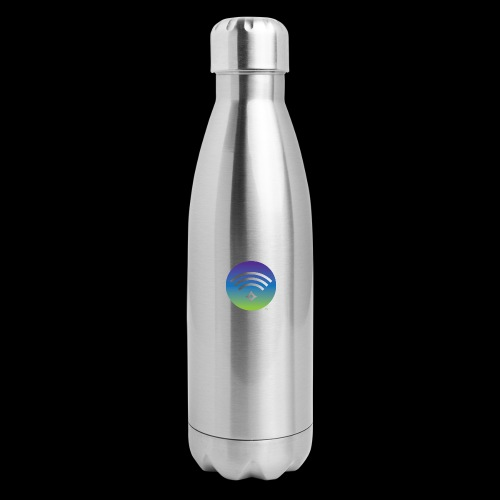 Colorful Divine Frequency - Insulated Stainless Steel Water Bottle