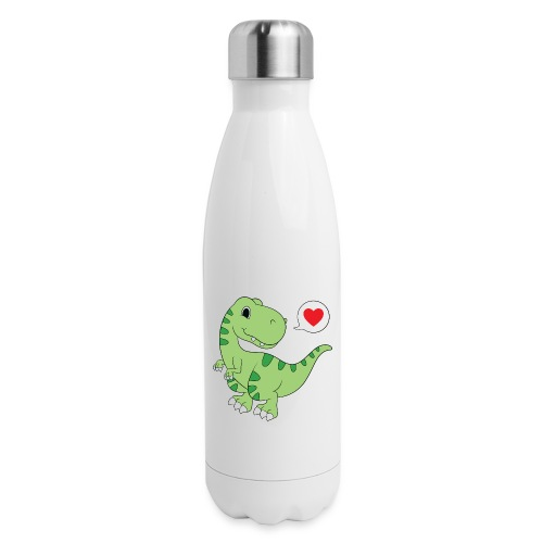 Dinosaur Love - Insulated Stainless Steel Water Bottle