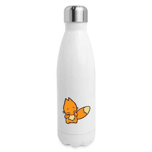 Scaredy Fox - Insulated Stainless Steel Water Bottle