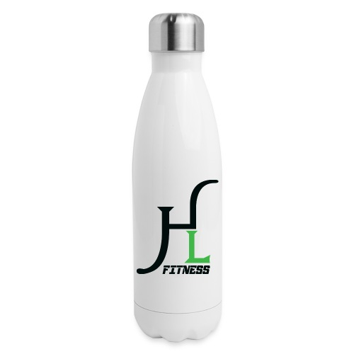 HIIT Life Fitness Logo - Insulated Stainless Steel Water Bottle