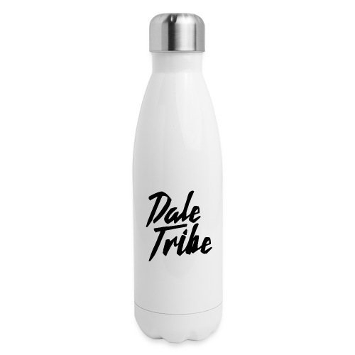 Dale Tribe Logo BLACK - Insulated Stainless Steel Water Bottle