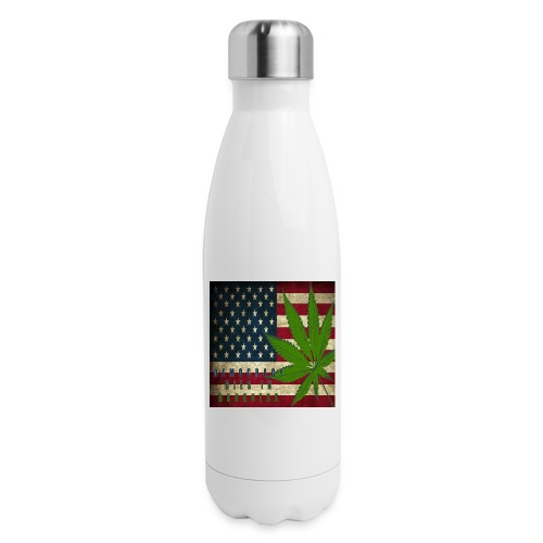 Political humor - Insulated Stainless Steel Water Bottle