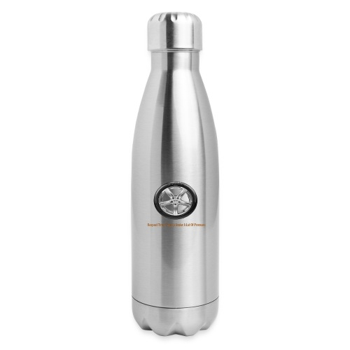 Respect Tires - Insulated Stainless Steel Water Bottle