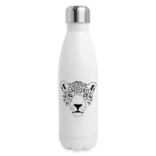 jaguar cougar cat puma panther leopard cheetah - Insulated Stainless Steel Water Bottle