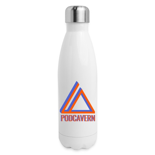 PodCavern Logo - Insulated Stainless Steel Water Bottle