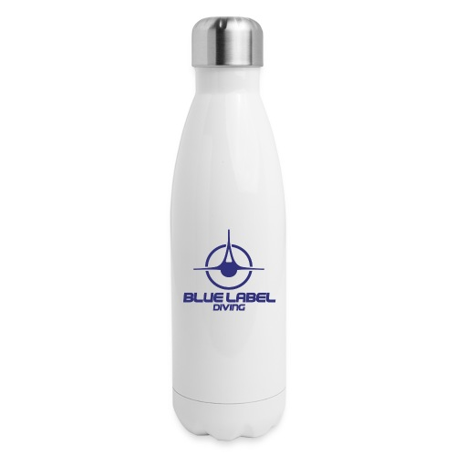 BLD logo with text blue - Insulated Stainless Steel Water Bottle