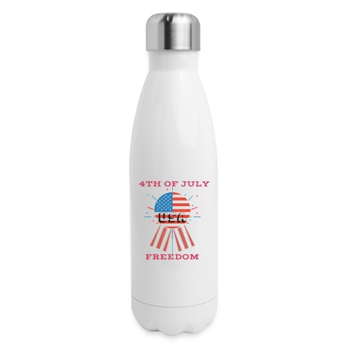 4th of July Freedom - Insulated Stainless Steel Water Bottle