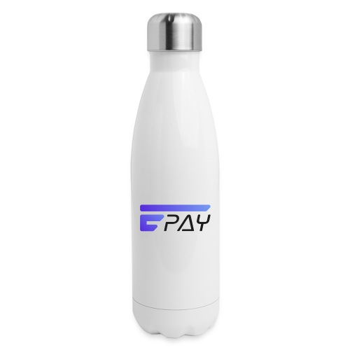 EUNOPAY LOGO BLACK FONT - Insulated Stainless Steel Water Bottle