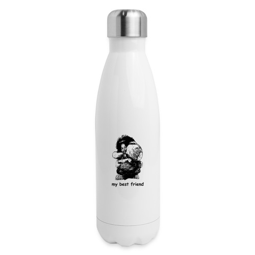 My best friend (girl) - Insulated Stainless Steel Water Bottle