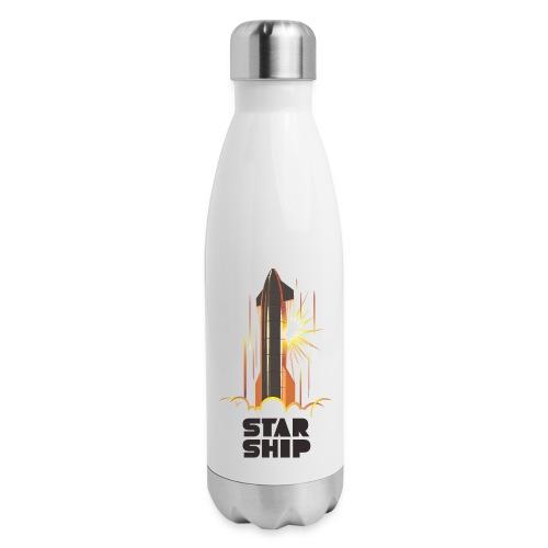 Star Ship Mars - Light - Insulated Stainless Steel Water Bottle