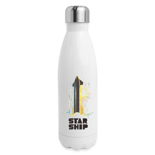 Star Ship Earth - Light - Insulated Stainless Steel Water Bottle
