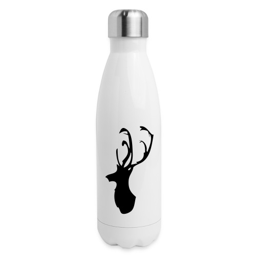 Mesanbrau Stag logo - Insulated Stainless Steel Water Bottle