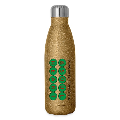 Heart & Soul Concerts Money Green - Insulated Stainless Steel Water Bottle