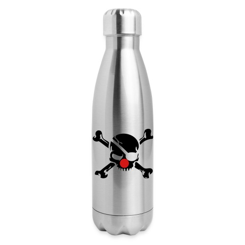 Clown Jolly Roger Pirate - Insulated Stainless Steel Water Bottle