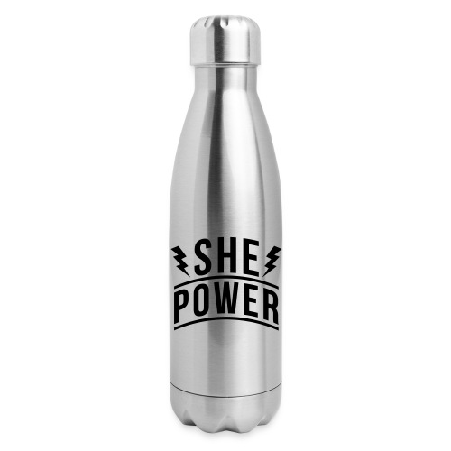 She Power - Insulated Stainless Steel Water Bottle