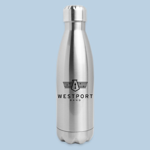 Westport Band Back on transparent - Insulated Stainless Steel Water Bottle