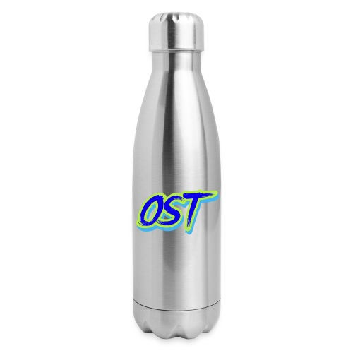 Ost Logo - Insulated Stainless Steel Water Bottle
