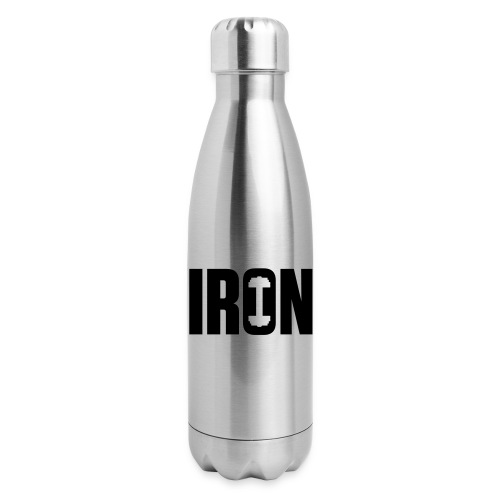 IRON WEIGHTS - Insulated Stainless Steel Water Bottle