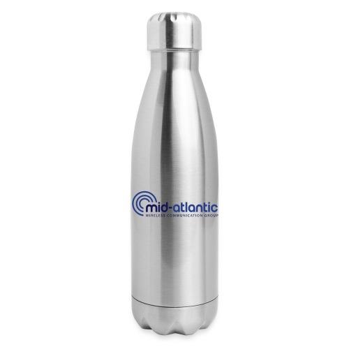 Mid Atlantic Wireless logo - Insulated Stainless Steel Water Bottle