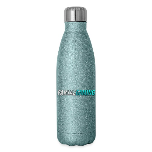 FaryazGaming Theme Text - Insulated Stainless Steel Water Bottle