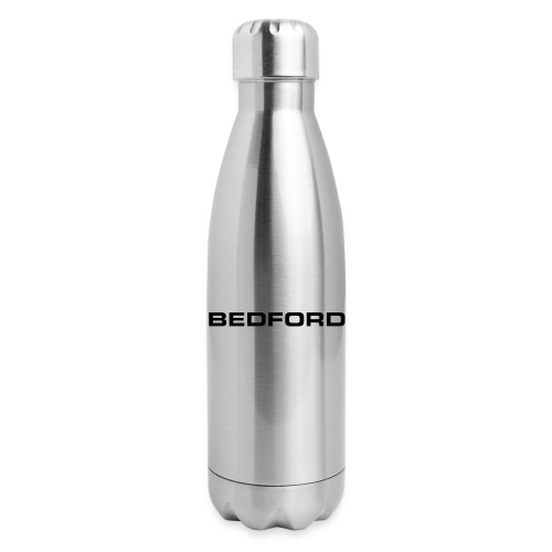 Bedford script emblem - AUTONAUT.com - Insulated Stainless Steel Water Bottle