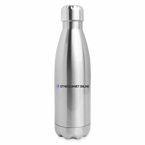 Ethereum Online light darkpng - Insulated Stainless Steel Water Bottle