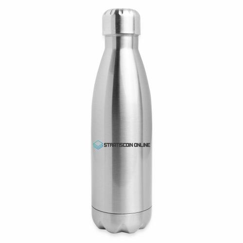 stratiscoin online dark - Insulated Stainless Steel Water Bottle
