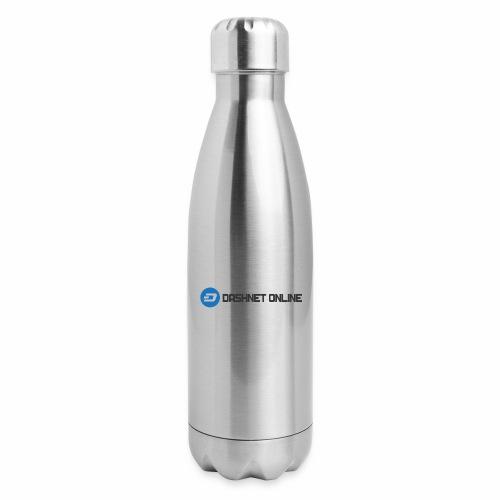 dashnet online dark - Insulated Stainless Steel Water Bottle